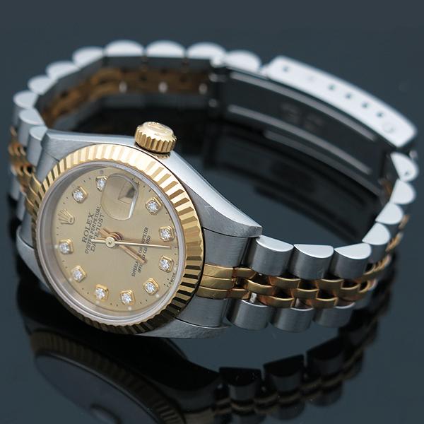Rolex(로렉스) 69173 18K 콤비 10포인트 다이아(옵션) 여성용 시계 [인천점]