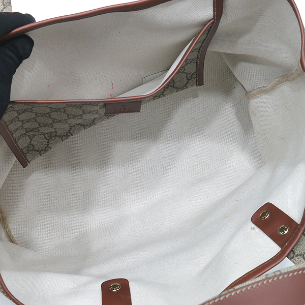 Gucci(구찌) 211134 삼선스티치 장식 GG로고 PVC 쇼퍼 숄더백 [인천점]