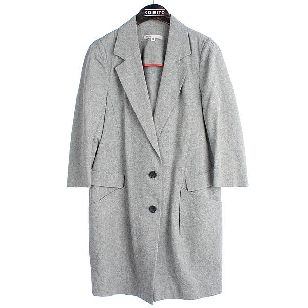 MAJE(마쥬) 면 100% 그레이 컬러 7부 여성용 자켓 [강남본점]