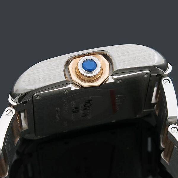 Cartier(까르띠에) WT100025 탱크 앙그레즈 핑크골드 콤비 11포인트 다이아 L사이즈 오토매틱 남성용 시계 [인천점] 이미지6 - 고이비토 중고명품