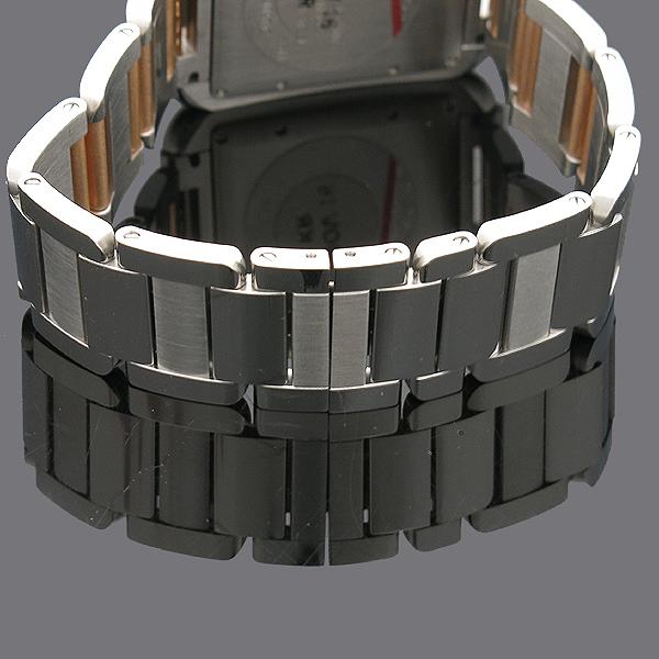 Cartier(까르띠에) WT100025 탱크 앙그레즈 핑크골드 콤비 11포인트 다이아 L사이즈 오토매틱 남성용 시계 [인천점] 이미지5 - 고이비토 중고명품