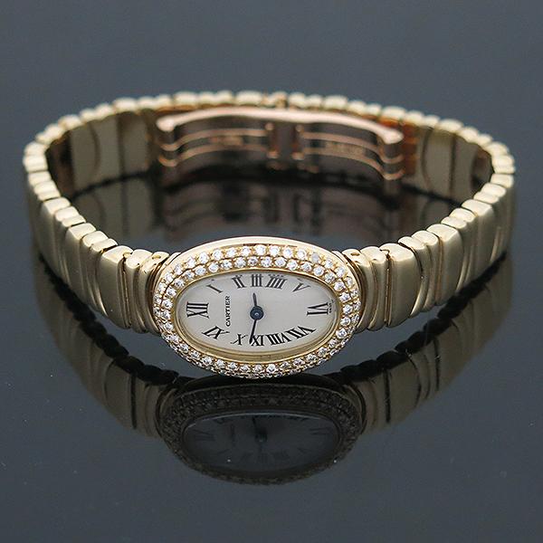 Cartier(까르띠에) WB5094D8 Baignoire(베누아) 18K 금통 애프터다이아세팅 여성용 시계 [부산센텀본점] 이미지3 - 고이비토 중고명품