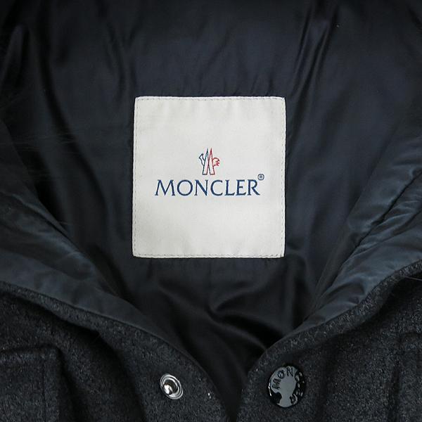 MONCLER(몽클레어) RINDOU 블랙 컬러 여성용 패딩 자켓 [강남본점] 이미지5 - 고이비토 중고명품