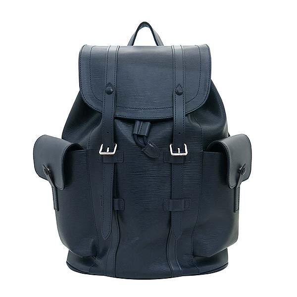 Louis Vuitton(루이비통) M58868 에삐 레더 블루 마린 컬러 크리스토퍼 PM 백팩 [부산센텀본점]