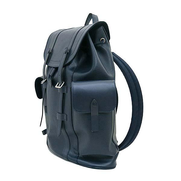 Louis Vuitton(루이비통) M58868 에삐 레더 블루 마린 컬러 크리스토퍼 PM 백팩 [부산센텀본점] 이미지2 - 고이비토 중고명품
