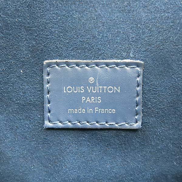 Louis Vuitton(루이비통) M58868 에삐 레더 블루 마린 컬러 크리스토퍼 PM 백팩 [부산센텀본점] 이미지3 - 고이비토 중고명품