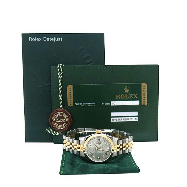 Rolex(로렉스) 179173 DATEJUST 데이트저스트 10포인트 다이아 18K 골드 콤비 여성용시계 [부산센텀본점]