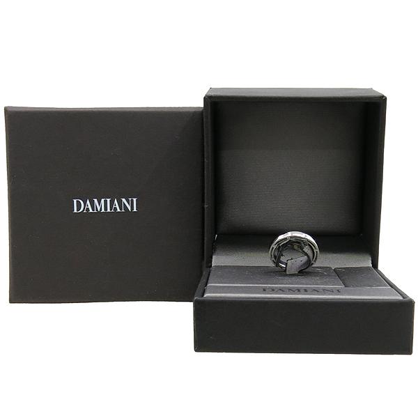 DAMIANI(다미아니) 18K 화이트골드 D SIDE 디 사이드 16포인트 다이아 3.3MM 반지 - 12호  [대구동성로점]