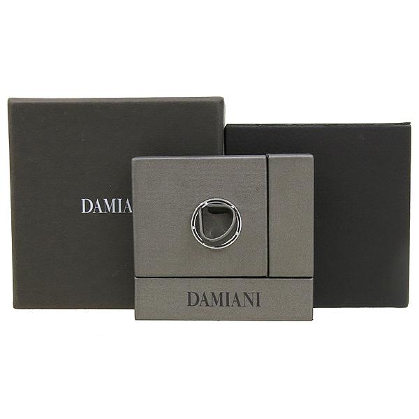 DAMIANI(다미아니) 18K 화이트골드 D SIDE 디 사이드 10포인트 다이아 2.5MM 반지 - 11호 [강남본점]
