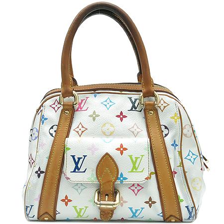 Louis Vuitton(루이비통) M40096 모노그램 멀티 화이트 프리실라 토트백 [대구반월당본점]
