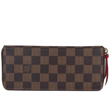 Louis Vuitton(루이비통) N60534 다미에 에벤 클레망스 짚업 장지갑 [광주]