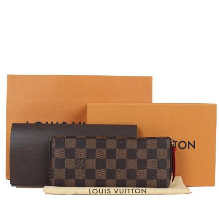 Louis Vuitton(루이비통) N60534 다미에 에벤 클레망스 짚업 장지갑 [광주] 이미지3 - 고이비토 중고명품