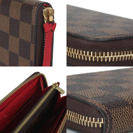 Louis Vuitton(루이비통) N60534 다미에 에벤 클레망스 짚업 장지갑 [광주] 이미지5 - 고이비토 중고명품