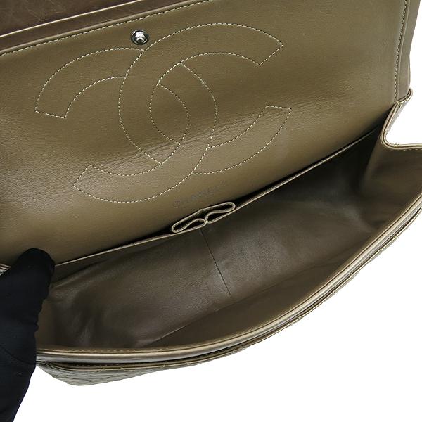 Chanel(샤넬) A37590 2.55 빈티지 골드 메탈릭 L사이즈 은장로고 체인 숄더백 [강남본점] 이미지6 - 고이비토 중고명품