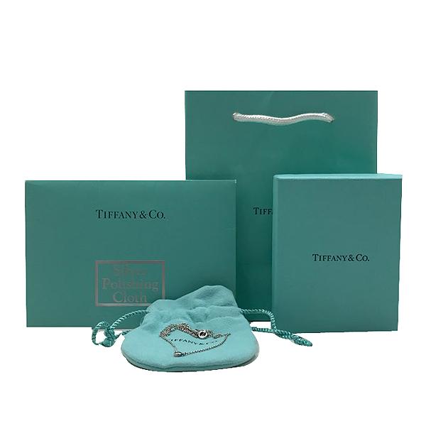Tiffany(티파니) 925(실버) 1포인트 다이아 목걸이 [인천점]