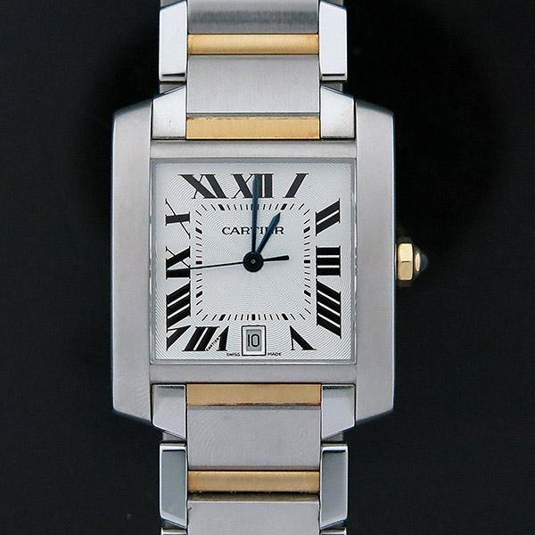 Cartier(까르띠에) W51005Q4 18K 콤비 탱크 프랑세즈 오토매틱 L사이즈 남성용 시계 [부산센텀본점] 이미지2 - 고이비토 중고명품