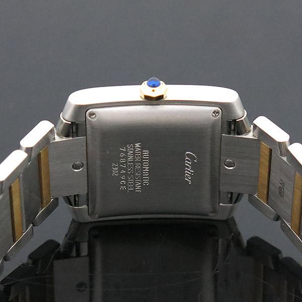 Cartier(까르띠에) W51005Q4 18K 콤비 탱크 프랑세즈 오토매틱 L사이즈 남성용 시계 [부산센텀본점] 이미지4 - 고이비토 중고명품