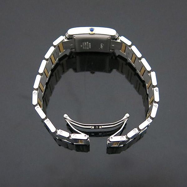 Cartier(까르띠에) W51005Q4 18K 콤비 탱크 프랑세즈 오토매틱 L사이즈 남성용 시계 [부산센텀본점] 이미지5 - 고이비토 중고명품