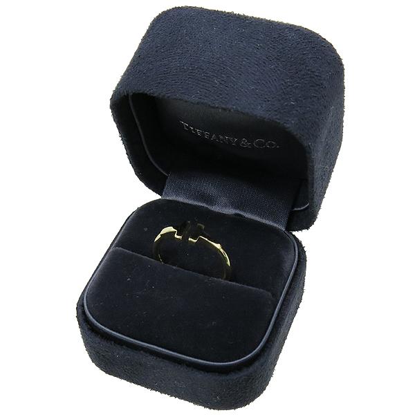 Tiffany(티파니) 18K 골드 T 컬렉션 와이어 반지 - 13 호 [강남본점] 이미지2 - 고이비토 중고명품