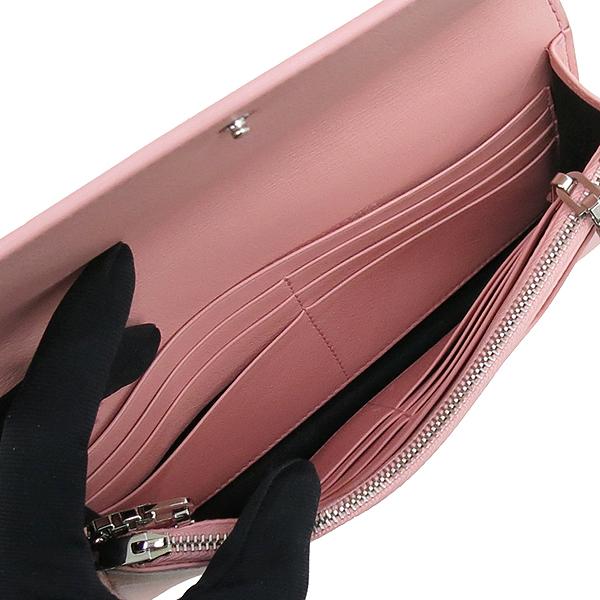 Balenciaga(발렌시아가) 420837 핑크 레더 플레이트 장식 미니 크로스백 [강남본점] 이미지6 - 고이비토 중고명품