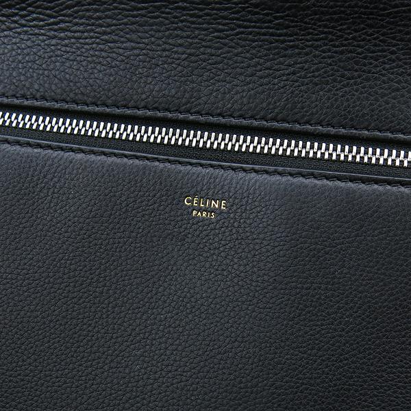 Celine(셀린느) 172613 블랙 컬러 레더 엣지 미디움 사이즈 토트백 [강남본점] 이미지4 - 고이비토 중고명품