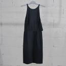 Prada(프라다) 실크 100% 블랙 컬러 여성용 슬리브리스 원피스 [동대문점]