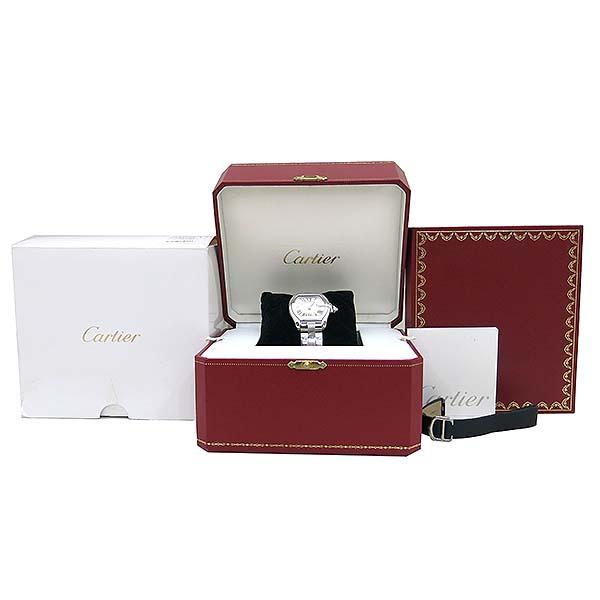 Cartier(까르띠에) W62016V3 ROADSTER(로드스터) 로마 인덱스 S 사이즈 쿼츠 여성용시계 [부산센텀본점]