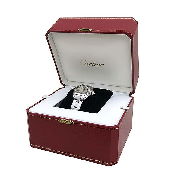 Cartier(까르띠에) W62016V3 ROADSTER(로드스터) 로마 인덱스 S 사이즈 쿼츠 여성용시계 [부산센텀본점] 이미지2 - 고이비토 중고명품