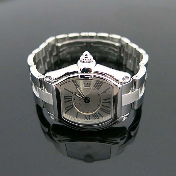 Cartier(까르띠에) W62016V3 ROADSTER(로드스터) 로마 인덱스 S 사이즈 쿼츠 여성용시계 [부산센텀본점] 이미지4 - 고이비토 중고명품