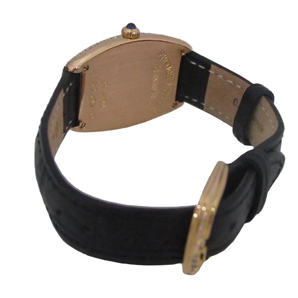 FRANCK MULLER (프랭크뮬러) 1752QZ 18K 옐로우골드 금통 CURVEX(커벡스) 오리지널다이아 가죽 밴드 여성용 시계 [대구동성로점] 이미지4 - 고이비토 중고명품