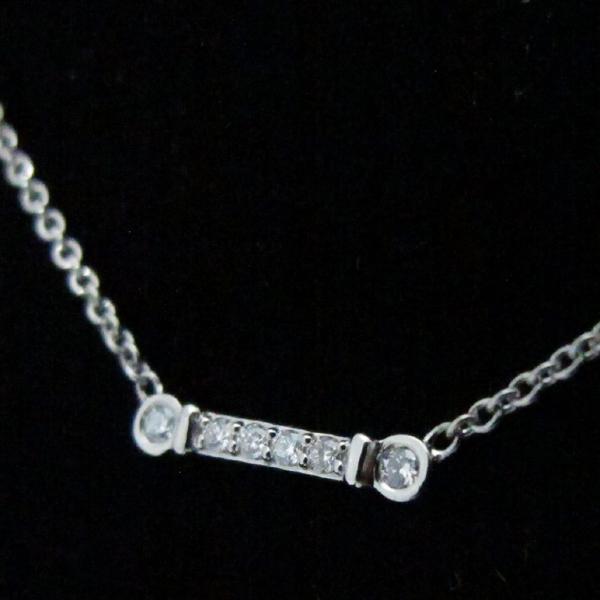 Tiffany(티파니) PT950 플래티늄 6포인트 다이아 플뢰르 드 리스 여성용 목걸이 [대구반월당본점] 이미지4 - 고이비토 중고명품