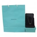 Tiffany(티파니) PT950 플래티늄 6포인트 다이아 플뢰르 드 리스 여성용 목걸이 [대구반월당본점]