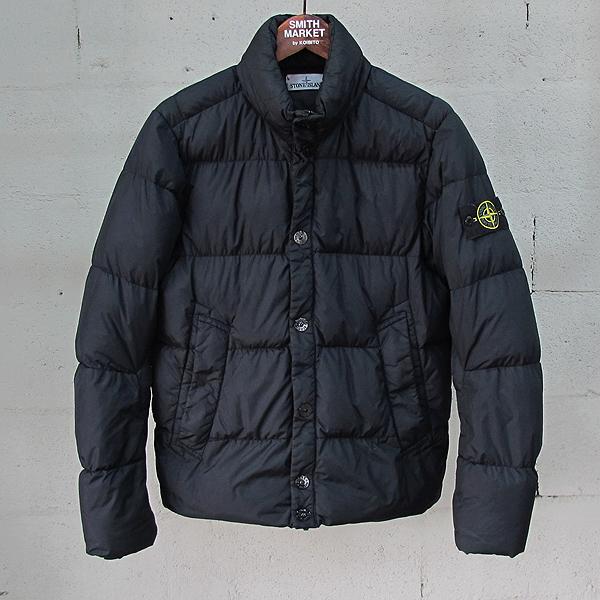 Stone Island (스톤 아일랜드) GRAMENT DYED 블랙 컬러 남성용 패딩 자켓 [동대문점]