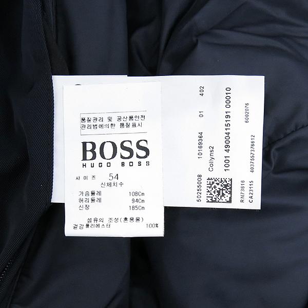 Hugo Boss(휴고보스) 다크 네이비 컬러 패딩 레이어드 야상 자켓 [강남본점] 이미지5 - 고이비토 중고명품