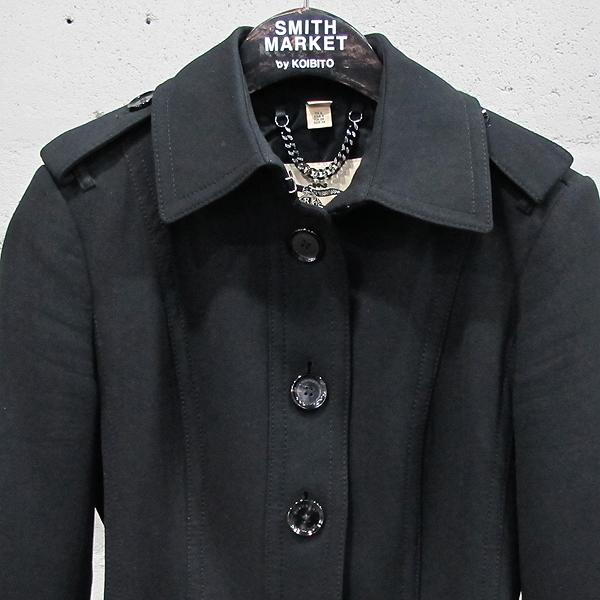 Burberry(버버리) 블랙 컬러 벨트 장식 여성용 코트 [동대문점] 이미지2 - 고이비토 중고명품