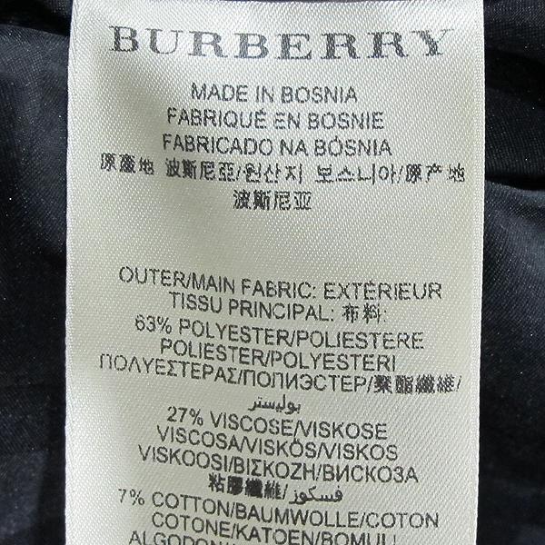Burberry(버버리) 블랙 컬러 벨트 장식 여성용 코트 [동대문점] 이미지4 - 고이비토 중고명품