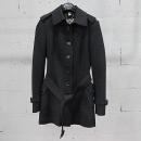 Burberry(버버리) 블랙 컬러 벨트 장식 여성용 코트 [동대문점]