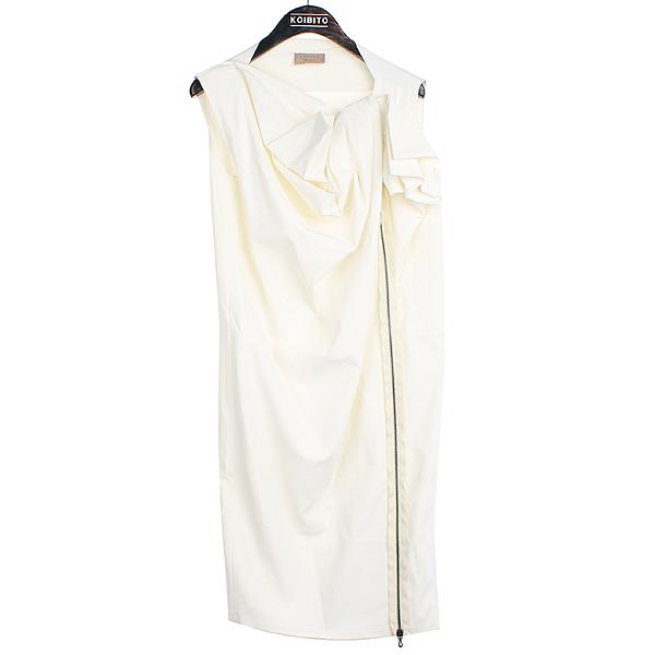 LANVIN(랑방) 2011 쇼 컬렉션 비스코스 혼방 화이트 컬러 여성용 원피스 [강남본점]