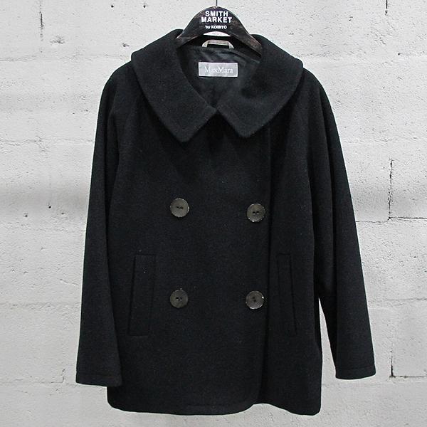 Max Mara(막스마라) 울 100% 블랙 컬러 여성용 코트 [동대문점]