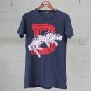 Balmain(발망) 네이비 컬러 타이거 프린팅 남성용 반팔 티셔츠 [동대문점]