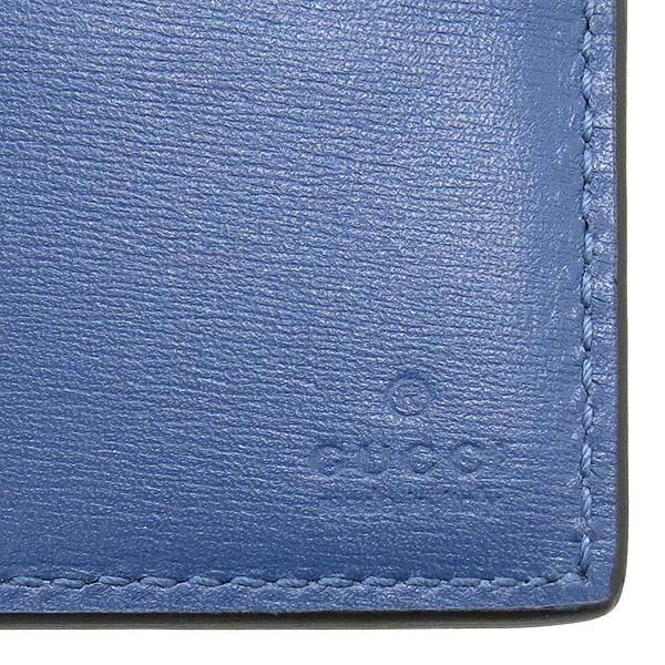 Gucci(구찌) 365482 스카이블루 컬러 크로커다일 반지갑 [강남본점] 이미지2 - 고이비토 중고명품