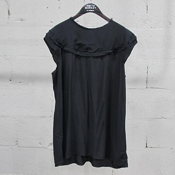 MARNI(마르니) 블랙 컬러 빈티지 여성용 슬리브리스 블라우스 [동대문점]