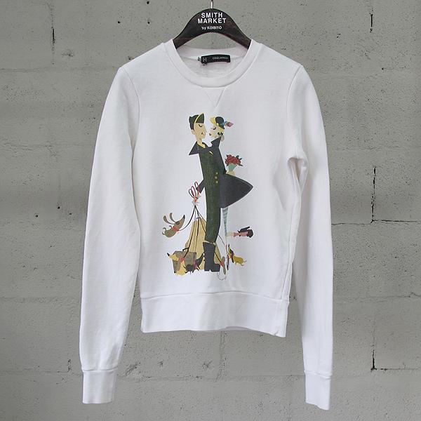 DSQUARED2 (디스퀘어드) S72GU0005 면 100% 커플 프린팅 여성용 맨투맨 티셔츠 [동대문점]