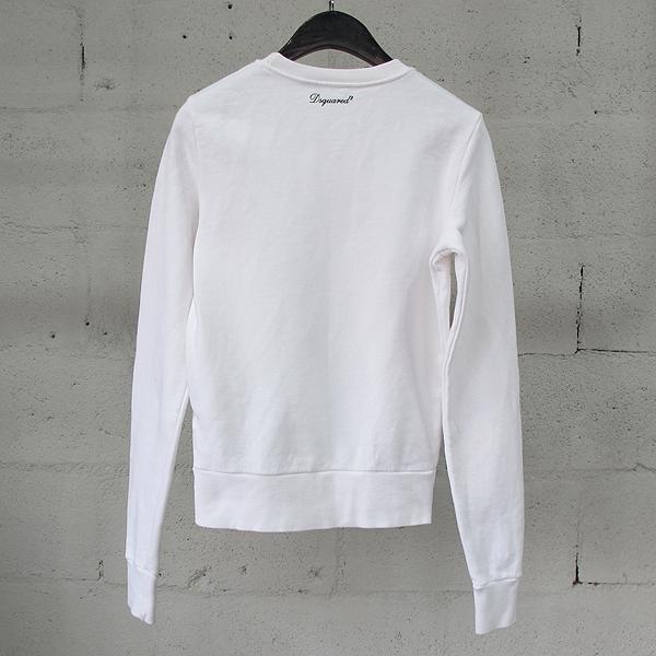 DSQUARED2 (디스퀘어드) S72GU0005 면 100% 커플 프린팅 여성용 맨투맨 티셔츠 [동대문점] 이미지3 - 고이비토 중고명품