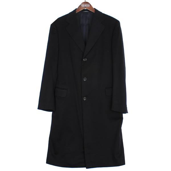 CANALI(카날리) 100% 캐시미어 네이비 컬러 남성용 싱글 코트 [강남본점]