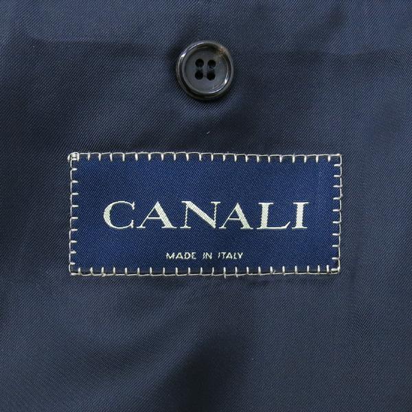 CANALI(카날리) 100% 캐시미어 네이비 컬러 남성용 싱글 코트 [강남본점] 이미지5 - 고이비토 중고명품