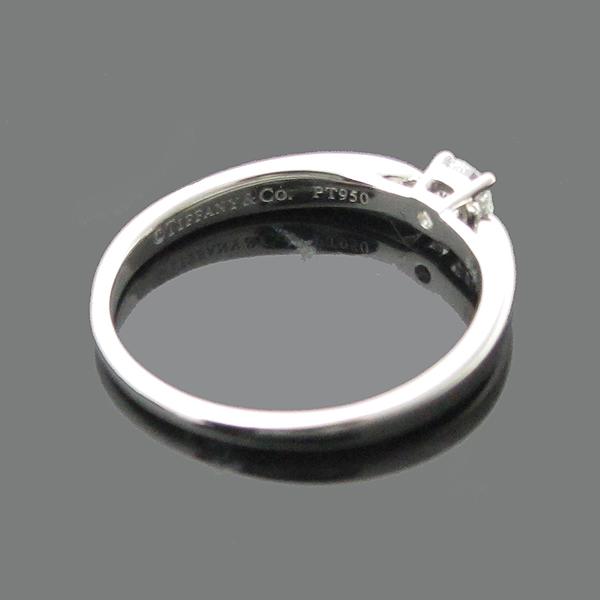 Tiffany(티파니) PT950(플레티늄) 하모니 1 포인트 0.18CT 다이아 여성용 웨딩반지 - 12호 [인천점] 이미지4 - 고이비토 중고명품