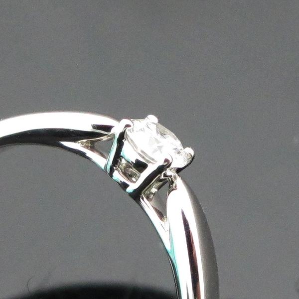 Tiffany(티파니) PT950(플레티늄) 하모니 1 포인트 0.18CT 다이아 여성용 웨딩반지 - 12호 [인천점] 이미지5 - 고이비토 중고명품