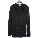 Chanel(샤넬) P32563 블랙 컬러 후드 여성용 티셔츠 [강남본점]