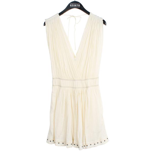 ISABEL MARANT(이자벨 마랑) 화이트 컬러 홀터 넥 드레스 [강남본점]